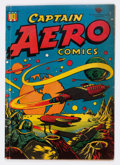 Golden Age (1938-1955):Science Fiction, Captain Aero Comics #26 (Holyoke Publications, 1946) Condition:VG+....