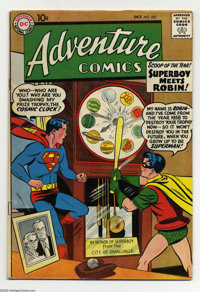 Adventure Comics #253 (DC, 1958) Condition: VF-. First meeting of Superboy and Robin. Curt Swan cover. Jack Kirby, Al Pl...