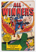 Golden Age (1938-1955):Superhero, All Winners Comics #21 (Timely, 1947) Condition: VG/FN....