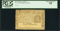 Colonial Notes:New York, New York September 2, 1775 $3 PCGS Choice About New 55.. ...