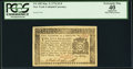 Colonial Notes:New York, New York March 5, 1776 $1/8 PCGS Apparent Extremely Fine 40.. ...