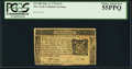 Colonial Notes:New York, New York March 5, 1776 $1/6 PCGS Choice About New 55PPQ.. ...