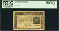 Colonial Notes:New York, New York March 5, 1776 $1/2 PCGS Choice About New 58PPQ.. ...