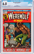 Bronze Age (1970-1979):Horror, Werewolf by Night #1 (Marvel, 1972) CGC FN 6.0 Off-white to whitepages....