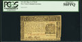 Colonial Notes:New York, New York March 5, 1776 $1 PCGS About New 50PPQ.. ...