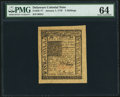 Colonial Notes:Delaware, Delaware January 1, 1776 5s PMG Choice Uncirculated 64.. ...