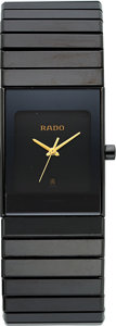 Timepieces:Wristwatch, Rado High-Tech Ceramic & Titanium Gent's Wristwatch. ...