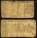Colonial Notes:Maryland, Maryland March 1, 1770 $1/3 Fine;. Maryland April 10, 1774 $2/3Fine.. ... (Total: 2 notes)