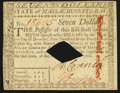 Colonial Notes:Massachusetts, Massachusetts May 5, 1780 $7 Diamond Cancel Choice About New.. ...