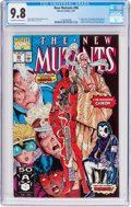 Modern Age (1980-Present):Superhero, The New Mutants #98 (Marvel, 1991) CGC NM/MT 9.8 Off-white to whitepages....