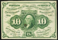 Fractional Currency:First Issue, Fr. 1242 10¢ First Issue New.. ...