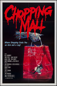 """Chopping Mall & Others Lot (Concorde/Trinity, 1986). One Sheets (4) (27"""" X 41""""). Horror. ... (Total: 4..."""