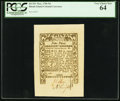 Colonial Notes:Rhode Island, Rhode Island May 1786 9d PCGS Very Choice New 64.. ...