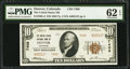 National Bank Notes:Colorado, Denver, CO - $10 1929 Ty. 2 The United States NB Ch. # 7408. ...
