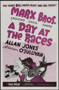 """Movie Posters:Comedy, A Day at the Races (MGM, R-1962). One Sheet (27"""" X 41""""). Comedy.. ..."""