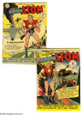 Golden Age (1938-1955):Science Fiction, Captain Atom #1 and 2 Group (Nationwide Publications, 1950)Condition: Average VG+. Group lot includes #1 and 2. Approximate...(2 Comic Books)