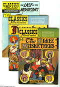 "Golden Age (1938-1955):Classics Illustrated, Classics Illustrated Group (Gilberton, 1948-69) Condition: AverageVG. This seven issue lot includes #1 (""Three Musketeers"";... (7Comic Books)"