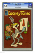 Silver Age (1956-1969):Cartoon Character, Looney Tunes #243 File Copy (Dell, 1962) CGC NM 9.4 Off-white towhite pages. Overstreet 2005 NM- 9.2 value = $55. CGC censu...