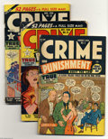 Golden Age (1938-1955):Miscellaneous, Miscellaneous Lev Gleason Group (Lev Gleason Publications, 1945-52). Twenty five-issue lot includes Crime and Punishment... (25 Comic Books)