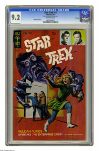 Star Trek #11 File Copy (Gold Key, 1971) CGC NM- 9.2 Off-white pages. Painted cover. Alberto Giolitti art. Overstreet 20...