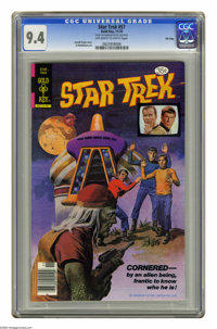 Star Trek #57 File Copy (Gold Key, 1978) CGC NM 9.4 Off-white to white pages. Al McWilliams art. Overstreet 2005 NM- 9.2...