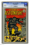 Silver Age (1956-1969):Mystery, Tales to Astonish #3 (Marvel, 1959) CGC GD+ 2.5 Cream to off-whitepages. Jack Kirby cover. Paul Reinman and Steve Ditko art... (1 )