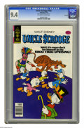Bronze Age (1970-1979):Cartoon Character, Uncle Scrooge #163 File Copy (Gold Key, 1979) CGC NM 9.4 Off-whiteto white pages. Overstreet 2005 NM- 9.2 value = $20. CGC ...