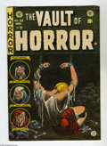 Golden Age (1938-1955):Horror, Vault of Horror #39 (EC, 1954) Condition: FN. Bondage cover byJohnny Craig. Art by Craig, Reed Crandall, and Bernie Krigste...