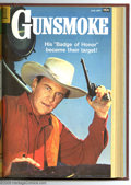 Silver Age (1956-1969):Western, Gunsmoke #6-17 Bound Volume (Dell, 1958-59). These are WesternPublishing file copies that have been trimmed and bound into ...