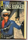Golden Age (1938-1955):Western, The Lone Ranger #121-132 Bound Volume (Dell, 1958-59). These areWestern Publishing file copies that have been trimmed and b...