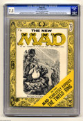 Magazines:Mad, Mad #25 (EC, 1955) CGC VF- 7.5 Light tan to off-white pages. Al Jaffee's debut as a regular writer for the magazine. Jackie ... (1 )