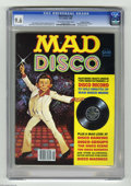 Magazines:Mad, Mad Disco #nn (EC, 1980) CGC NM+ 9.6 Off-white to white pages. Includes Mad Disco record. Jack Rickard cover. Jack Davis, Mo... (1 )