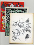Bronze Age (1970-1979):Alternative/Underground, Underground Comix Magazine Group (Various, 1977-87) Condition: Average VG/FN. Diverse collection of magazine-sized Undergrou... (11 Comic Books)