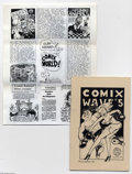 Bronze Age (1970-1979):Alternative/Underground, Comix World Group (Clay Geerdes/Comix World, 1980-82). Nice stack of 50 or so newsletters from the godfather of Underground ...