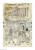 Original Comic Art:Covers, Stan Goldberg - Millie the Model #167 Cover Original Art (Marvel,1968). Chili decorated her apartment herself. Can you tell... (2items)