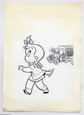 Original Comic Art:Covers, Warren Kremer (attributed) - Playful Little Audrey #43 CoverOriginal Art (Harvey, 1962). Little Audrey seems to have sprout...