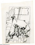 Original Comic Art:Miscellaneous, Western Publishing Artist - Turok, Son of Stone Preliminary CoverSketches Original Art, Group of 4 (undated). Four detailed... (4items)