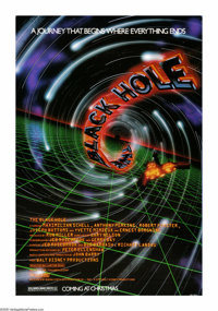 "The Black Hole (Buena Vista, 1979). One Sheet (27"" X 41""). ""A rip in the very fabric of space and time.&q..."