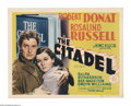 """Movie Posters:Drama, The Citadel (MGM, 1938). Title Lobby Card and Lobby Card (11"""" X14""""). Dr. Andrew Manson (Robert Donat) has to choose between... (2Items)"""