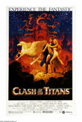 """Movie Posters:Fantasy, Clash of the Titans (MGM, 1981). One Sheet (27"""" X 41""""). Theadventures of Perseus in his quest to rescue Andromeda was the l..."""
