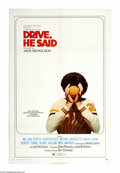 """Movie Posters:Drama, Drive, He Said (Columbia, 1971). One Sheet (27"""" X 41""""). Hector and Gabriel (William Tepper and Michael Margotta) are college..."""