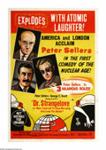 "Movie Posters:Comedy, Dr. Strangelove or: How I Learned to Stop Worrying and Love theBomb. (Columbia, 1964). Australian One Sheet (27"" X 40""). Du..."