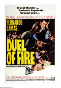 """Movie Posters:Action, Duel of Fire (American International, 1962). One Sheet (27"""" X 41""""). Fernando Lamas is Antonio Franco, a fugitive from a murd..."""