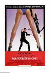 """For Your Eyes Only (United Artists, 1981). One Sheet (27"""" X 41""""). The film that saved United Artists from the..."""