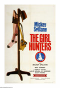 "Movie Posters:Mystery, The Girl Hunters (Colorama, 1963). One Sheet (27"" X 41""). NovelistMickey Spillane stars as his own character, Mike Hammer, ..."