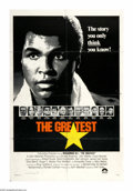 "Movie Posters:Sports, The Greatest (Columbia, 1977). One Sheet (27"" X 41""). Muhammad Ali plays himself in this screen adaptation of his autobiogra..."