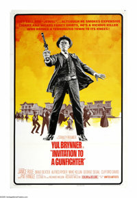 """Invitation to a Gunfighter (United Artists, 1964). One Sheet (27"""" X 41""""). """"I've killed so many men in the..."""