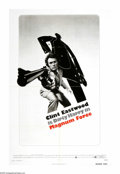 "Movie Posters:Action, Magnum Force (Warner Brothers, 1973). One Sheet (27"" X 41""). ""Nothing wrong with shooting as long as the right people get sh..."