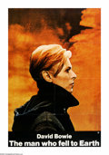 "Movie Posters:Science Fiction, The Man Who Fell to Earth (Cinema 5, 1976). One Sheet (27"" X 41""). David Bowie made his feature-film debut in this Nicholas ..."