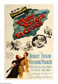 "Movie Posters:Comedy, Many Rivers To Cross (MGM, 1955). One Sheet (27"" X 41""). This comical outdoor adventure concerns a trapper who tries to esca..."